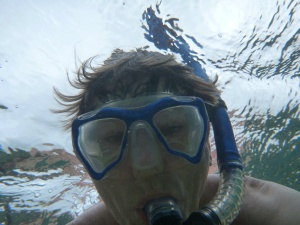 Snorkelling at Poipu Beach