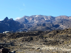 Rugged Mt Ruapehu