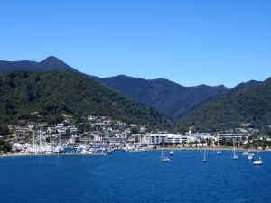 Arriving in Picton