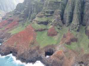 Swimming hole on the Napali Coast...if you can get there.