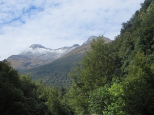 Making our way to Haast Pass