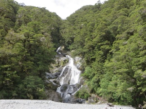 Fantail waterfalls off Highway 6