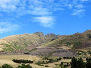 Hills west of Lake Wanaka