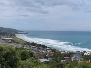 Our view of Ocean Beach, Dunedin