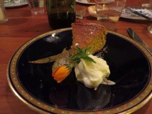 Hazelnut almond cake