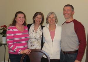 Rosemary, Margaret, Rona Lynn, Patrick