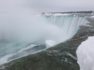 One of my favourite views of the Falls...at the brink