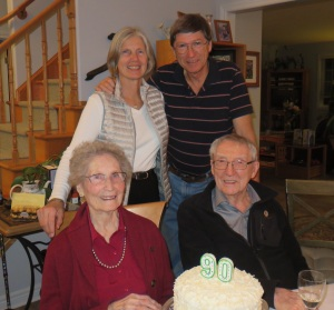 Happy 90th, Mom!