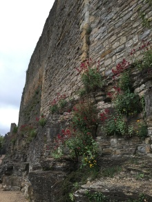 Exterior wall of Richmond Castle